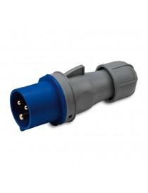 SP.2P+T 16A 230V 6H BLU IP44