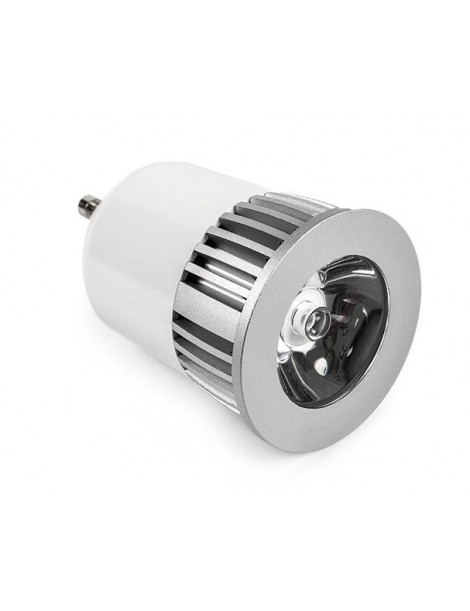 LAMPADA GU10 LED RGB 5W 230V. 150LUMEN