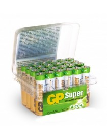 BLISTER 24 BATTERIE STILO ALKALINE GP