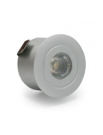 MINI FARETTO LED INCASSO 12V. 0,8W 6500K