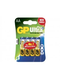 BLISTER 4 BATT. LR6 ALKALINE ULTRA PLUS