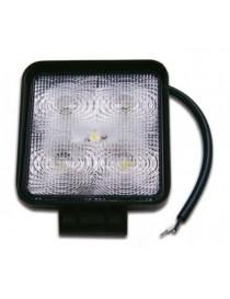 FARETTO LED 12-24V. 15W IP67 6500K.