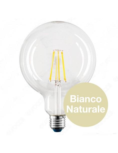 LAMPADA LED STICK GLOBO D.125 BN 8W