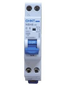 NBH8-40/C6-1PN-4,5 MT 1P+N 6A 4,5KA 1M