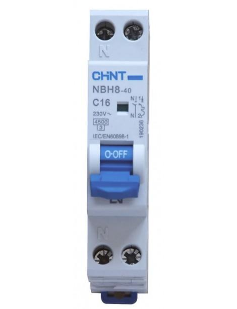 NBH8-40/C16-1PN-4,5 MT 1P+N 16A 4,5KA 1M