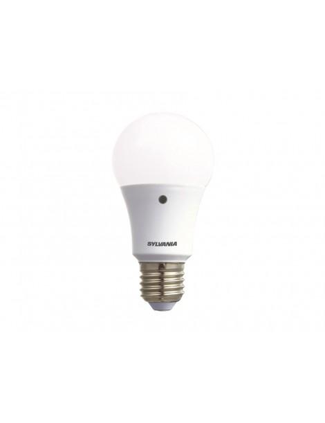 LAMPADA LED GOCCIA E27 8W + SENSORE LUCE