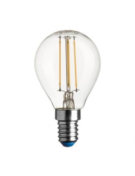 LAMPADA LED SFERA STICK E14 4W 40W 4000K