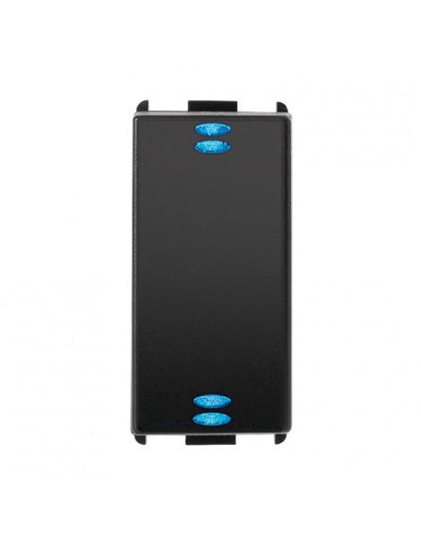 PULSANTE DOPPIO 5/24V 10MA C/LED S.MODO