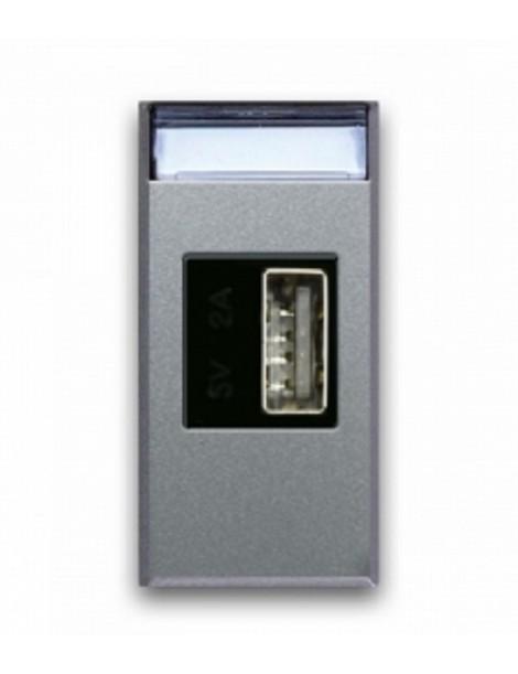 CARICATORE USB UNIVERS. 2A ALLUM.1M